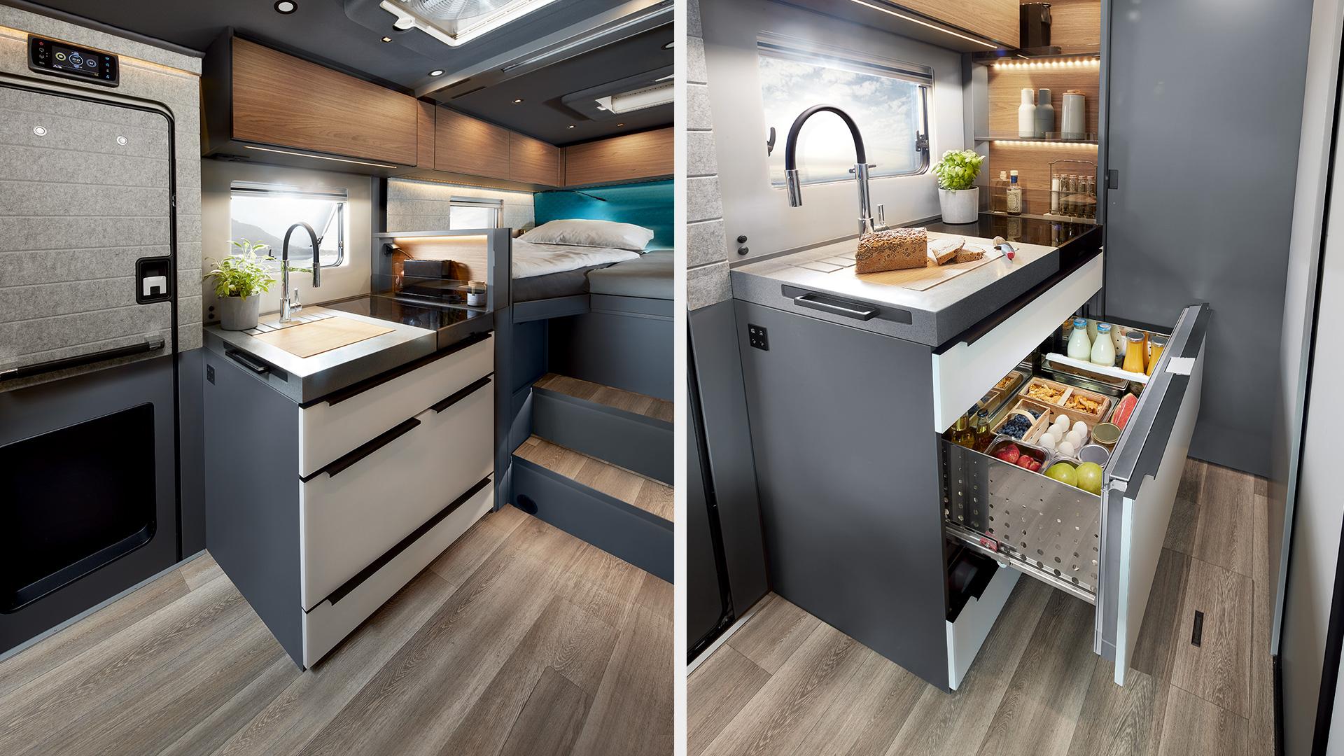 NIESMANN+BISCHOFF ISmove Kompressor Kühlschrank